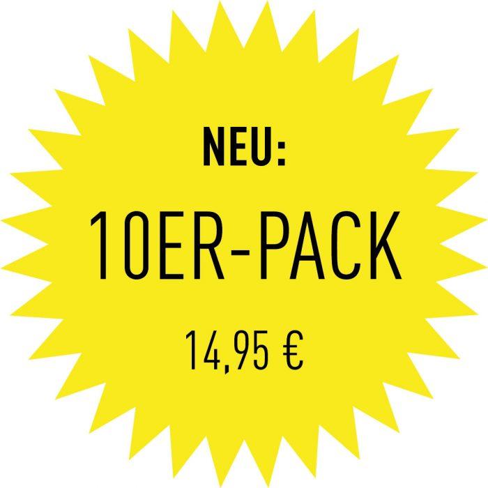 10Er-Pack - 14,95€
