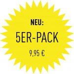 5er Pack - 9,95€