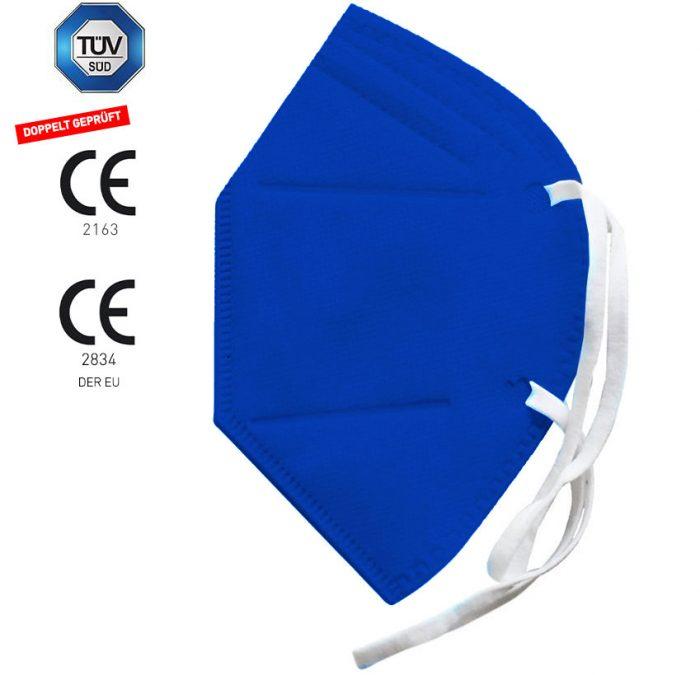 Maske Blau FFP2