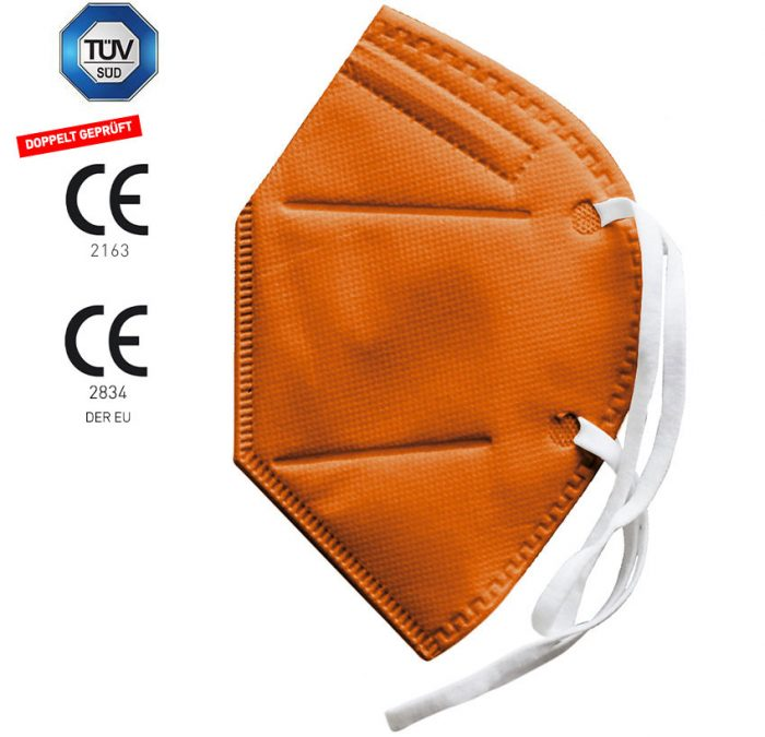 Dowe FFP2 Maske Orange