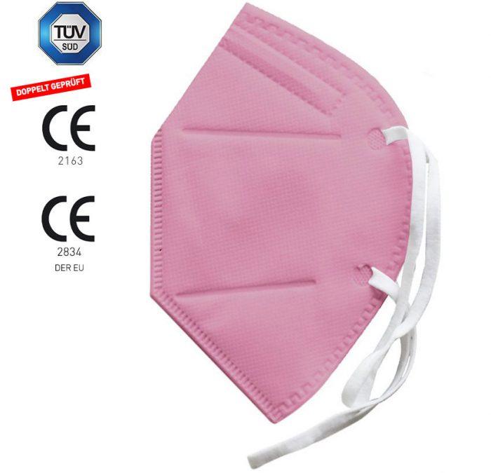 DOWE FFP2 Maske Pink