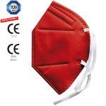 DOWE FFP2 Maske rot
