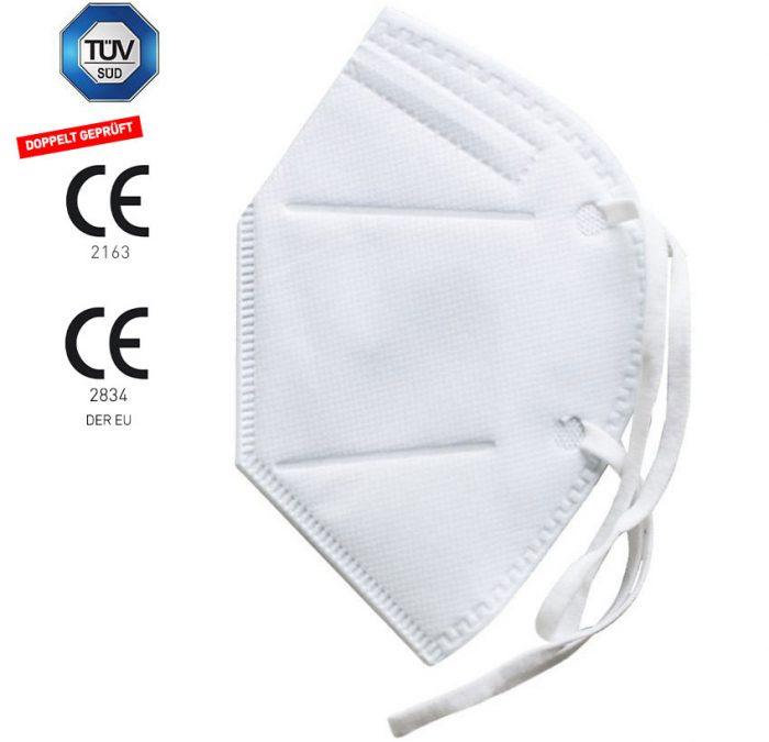 FFP2 Maske weiß